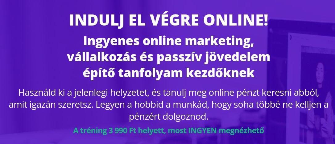 Online vállalkozás tréning